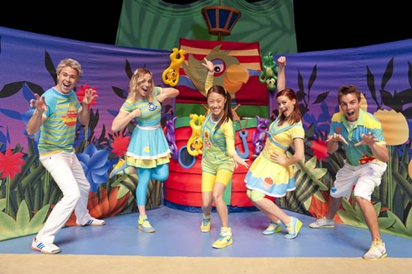 Hi 5 Cast 26th May 2012 in Brisbane.