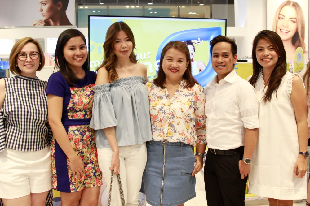 Kim Reyes - Watsons; Sheena Labor - Kojiesan Sunblock Brand Manager; Karen Fabres; Precy Hentoloro - Watsons Category Manager for Skincare; Dharell Fontanilla - Watsons Mrktng Manager; F
