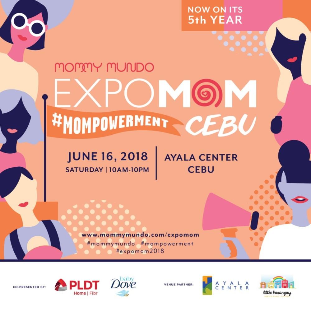 Expo Mom Cebu event layout